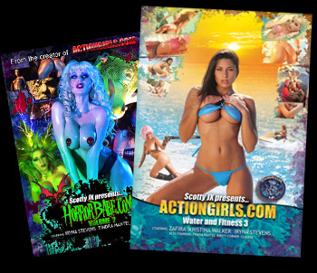 Actiongirls DVDs