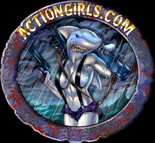 Den Actiongirls.com Hajen Logon